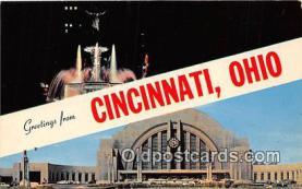 gre000184 - Cincinnati Ohio, USA Postcards Post Cards Old Vintage Antique