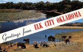 gre000186 - Elk City Oklahoma, USA Postcards Post Cards Old Vintage Antique