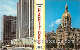 gre000189 - Hartford Connecticut, USA Postcards Post Cards Old Vintage Antique