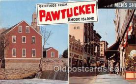 gre000190 - Pawtucket Rhode Island, USA Postcards Post Cards Old Vintage Antique