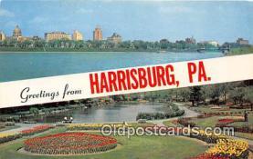 gre000191 - Harrisburg Pennsylvania, USA Postcards Post Cards Old Vintage Antique