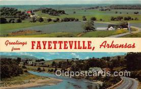 gre000193 - Fayetteville Arkansas, USA Postcards Post Cards Old Vintage Antique