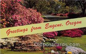 gre000194 - Eugene Oregon, USA Postcards Post Cards Old Vintage Antique