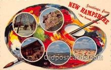 gre000196 - New Hampshire, USA Postcards Post Cards Old Vintage Antique