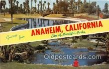 gre000197 - Anaheim California, USA Postcards Post Cards Old Vintage Antique