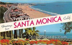 gre000202 - Santa Monica California, USA Postcards Post Cards Old Vintage Antique