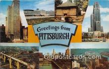gre000206 - Pittsburgh Pennsylvania, USA Postcards Post Cards Old Vintage Antique