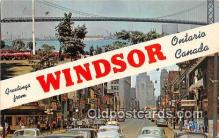 gre000207 - Windsor Ontario Canada Postcards Post Cards Old Vintage Antique