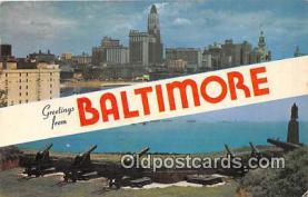 gre000209 - Baltimore Maryland, USA Postcards Post Cards Old Vintage Antique