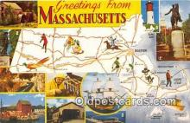 gre000210 - Massachusetts, USA Postcards Post Cards Old Vintage Antique