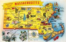 gre000211 - Massachusetts, USA Postcards Post Cards Old Vintage Antique