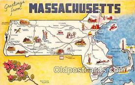 gre000212 - Massachusetts, USA Postcards Post Cards Old Vintage Antique