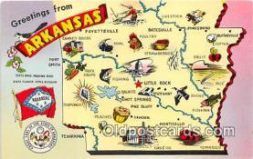gre000216 - Arkansas, USA Postcards Post Cards Old Vintage Antique