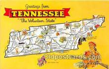 gre000226 - Tennessee, USA Postcards Post Cards Old Vintage Antique