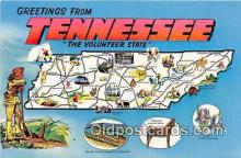 gre000227 - Tennessee, USA Postcards Post Cards Old Vintage Antique