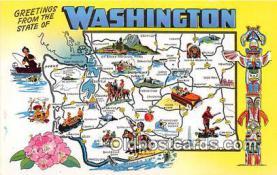 gre000229 - Washington, USA Postcards Post Cards Old Vintage Antique