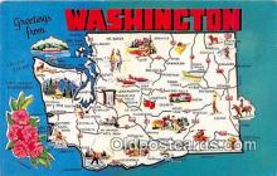 gre000230 - Washington, USA Postcards Post Cards Old Vintage Antique