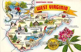 gre000231 - West Virginia, USA Postcards Post Cards Old Vintage Antique