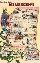 gre000274 - Mississippi, USA Postcards Post Cards Old Vintage Antique