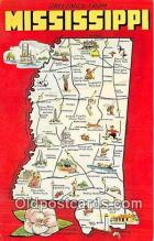 gre000275 - Mississippi, USA Postcards Post Cards Old Vintage Antique