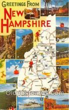 gre000285 - New Hampshire, USA Postcards Post Cards Old Vintage Antique