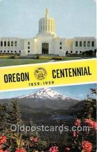 gre000295 - Centennial 1859-1959 Oregon, USA Postcards Post Cards Old Vintage Antique