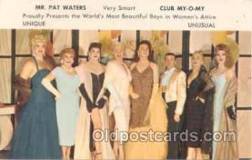 grl000001 - Club My-O-My New Orleans, Gay Related Postcard Post Card