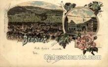 gsa001011 - Berneck Gruss Aus, Postcard Post Card