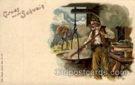gsa001013 - Schweiz Gruss Aus, Postcard Post Card