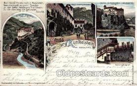 gsa001015 - Burg Runkelstein Gruss Aus, Postcard Post Card