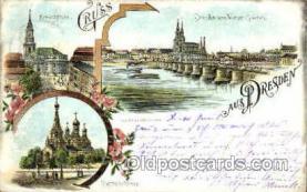 gsa001041 - Dresden Vom Wiener-Garten Gruss Aus