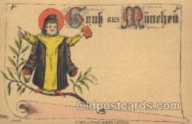 gsa001086 - Gruss Aus Munchen Postcard Post Card