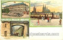 gsa001087 - Gruss aus Koln - Deutz Postcard Post Card