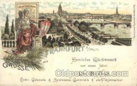 gsa001089 - Gruss Aus Frankfurt Postcard Post Card
