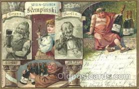 gsa001091 - Wein Steben Rempinski, Berlin, Gruss Aus Postcard Post Card