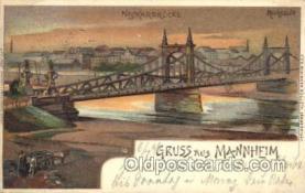 gsa001092 - Gruss Aus Mannheim, Gruss Aus Postcard Post Card