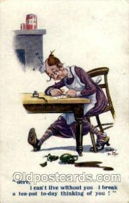 hat001042 - Artist-Dudley Buxton Hat Hats, Pin, Pins, Postcard Postcards