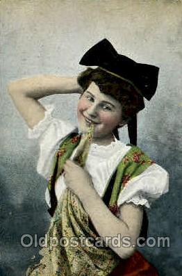 hat001156 - Hat, Hats, Pin, Pins, Postcard Postcards