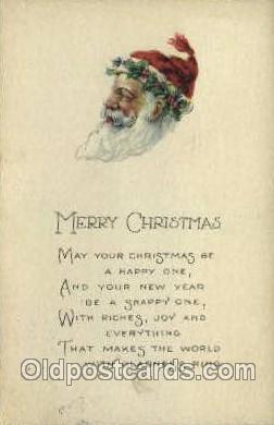 hol000216 - Santa Claus Christmas Postcard Post Cards