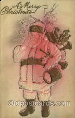 hol000233 - Santa Claus Christmas Postcard Post Cards