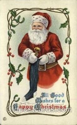 hol000236 - Santa Claus Christmas Postcard Post Cards
