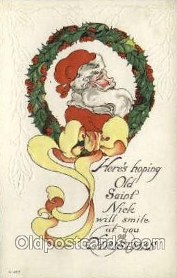 hol000243 - Santa Claus Christmas Postcard Post Cards