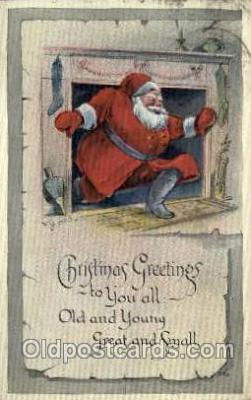 hol000246 - Santa Claus Christmas Postcard Post Cards