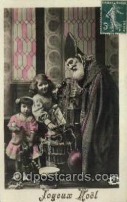 hol000286 - Santa Claus Christmas Postcards Post Card