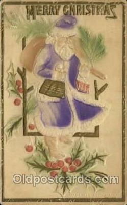 hol000287 - Santa Claus Christmas Postcards Post Card
