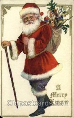 hol000289 - Santa Claus Christmas Postcards Post Card