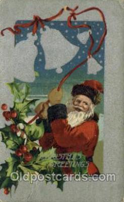 hol000291 - Santa Claus Christmas Postcards Post Card