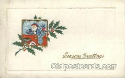 hol000356 - Santa Claus Postcards Post Card