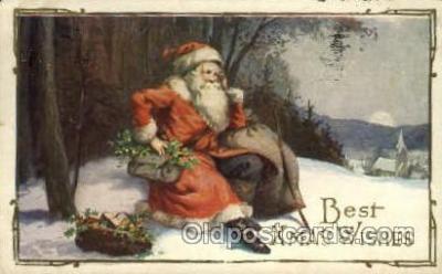 hol000359 - Santa Claus Postcards Post Card