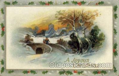 hol000373 - Santa Claus Postcards Post Card